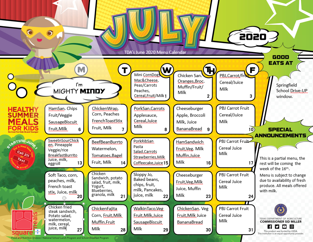 July Summer Program