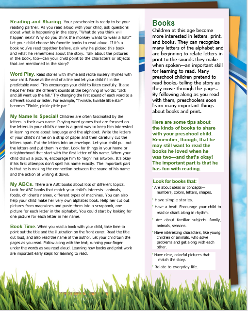 Reading to your beginning reader.  Here are some ideas to help when your early childhood reader.